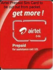 Airtel Prepaid customer care number 3859 2